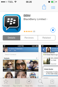 Download BBM for IOS