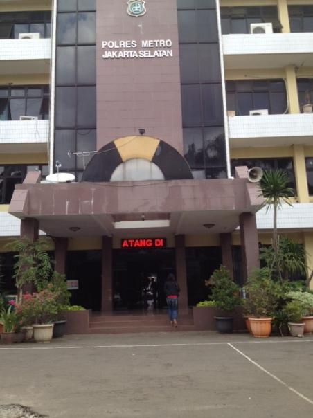 Gedung Polsek Jakarta Selatan